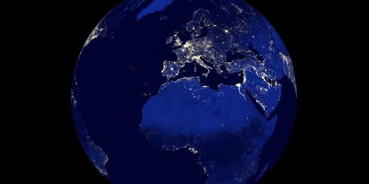 รูปทรงของโลกมีผลต่อสนามโน้มถ่วงแต่ละบริเวณ 7