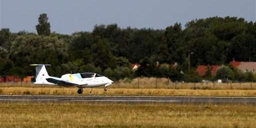 Airbus E Fan เครื่องบินไฟฟ้าลำแรกที่ข้ามช่องแคบอังกฤษได้ 1