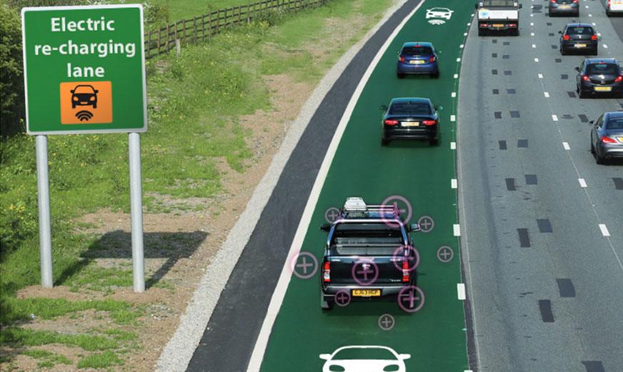 ถนนชาร์จไฟฟ้ารถยนต์ได้ อังกฤษ 3 ข่าวเทคโนโลยี