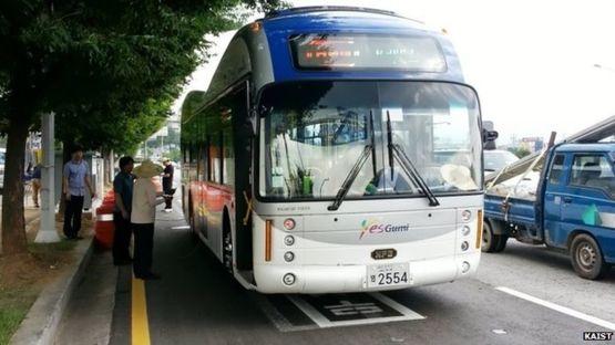 รถบัสเกาหลีชาร์จไฟฟ้าได้ ข่าวเทคโนโลยี