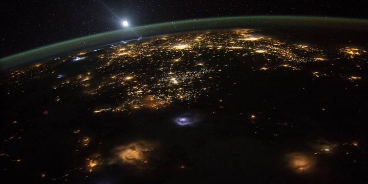 ภาพวิวจากสถานีอวกาศนานาชาติ ตอนเช้า ข่าวดาราศาสตร์