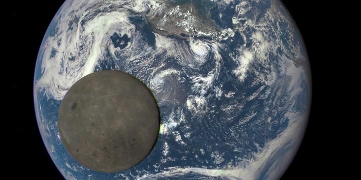ดวงจันทร์เคลื่อนผ่านหน้าโลก ข่าวดาราศาสตร์