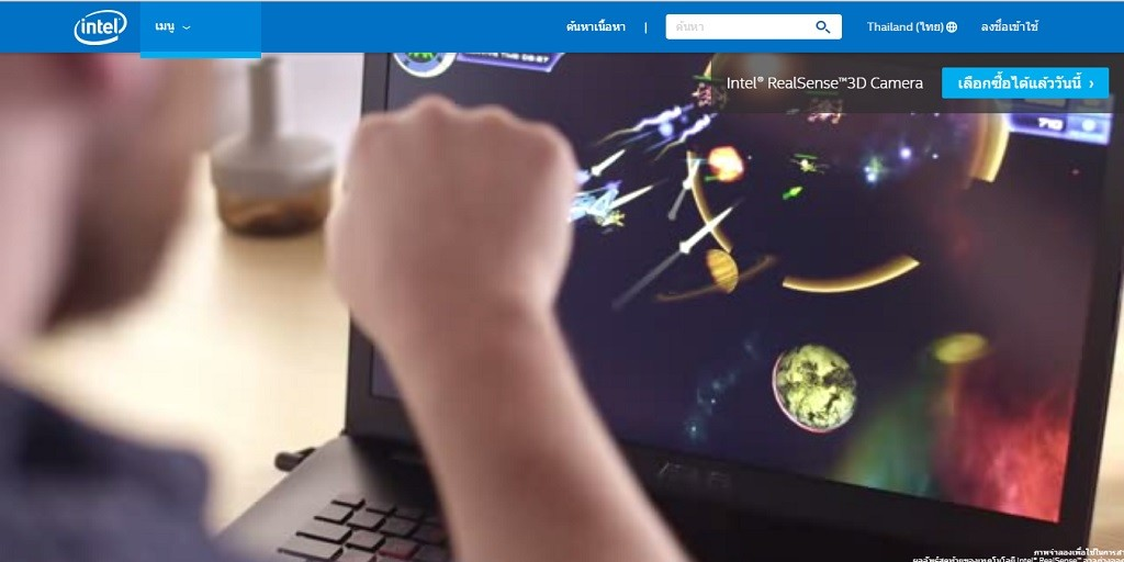 กล้อง intel realsense 3D ข่าวเทคโนโลยี