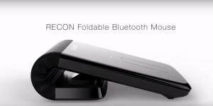 Recon Foldable Mouse เมาส์งอได้ ข่าวเทคโนโลยี
