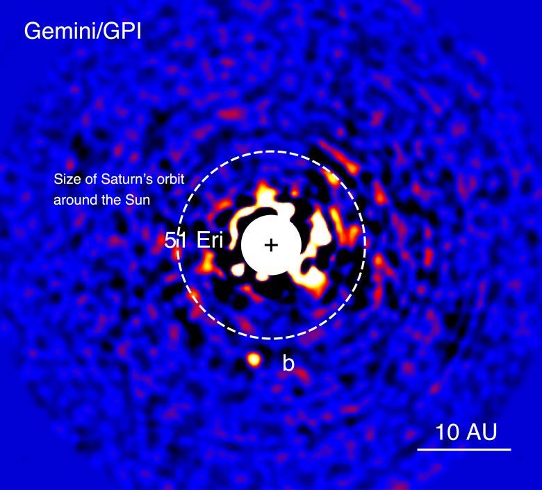 exoplanet 51 Eridani b