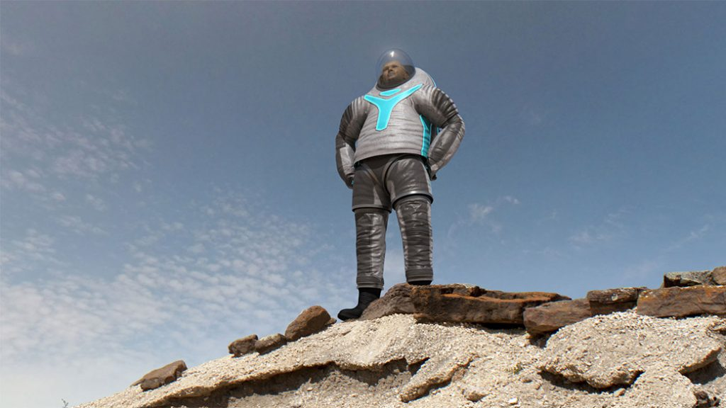 ชุดนักบินอวกาศสำหรับใส่บนดาวอังคาร 1
