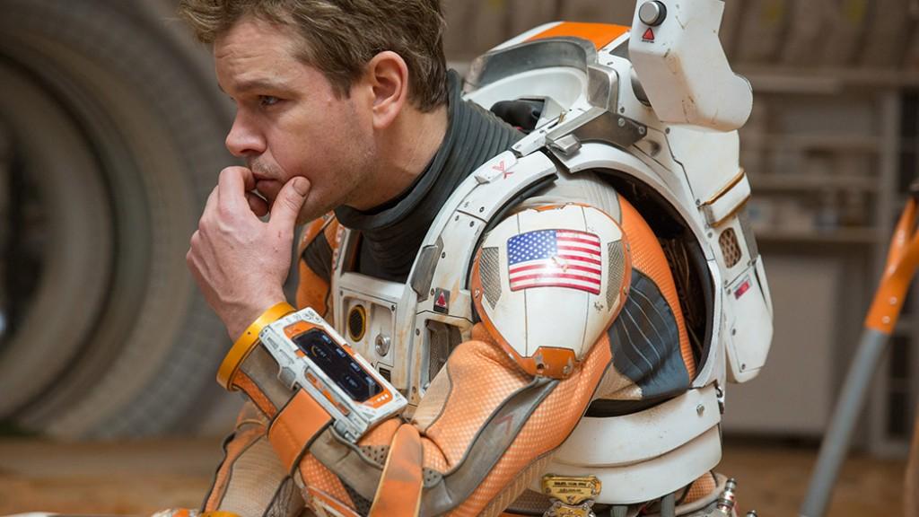 ชุดนักบินอวกาศสำหรับใส่บนดาวอังคาร