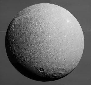 ดวงจันทร์ Dione ข่าวดาราศาสตร์