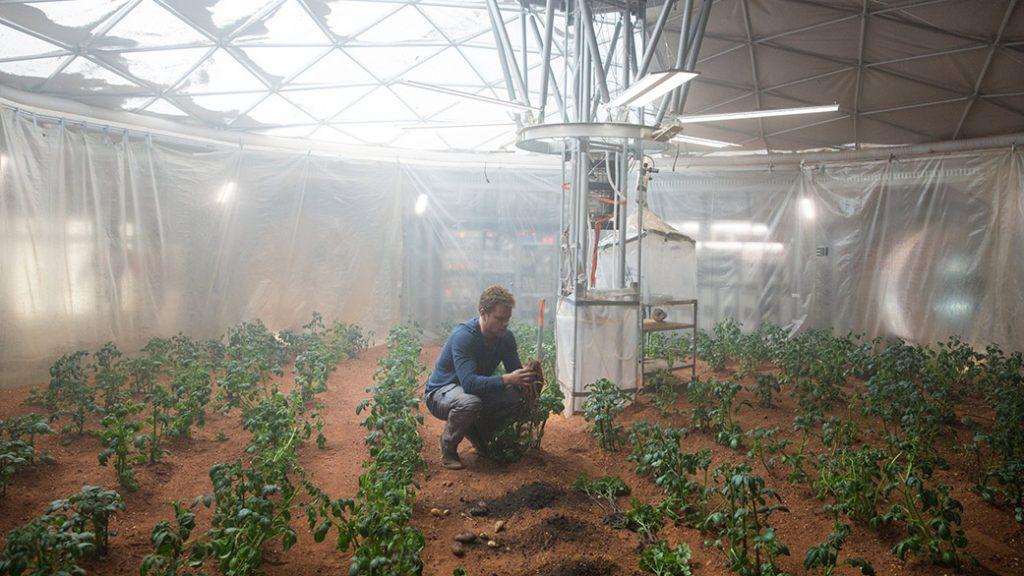 ฟาร์มปลูกผักบนดาวอังคาร1