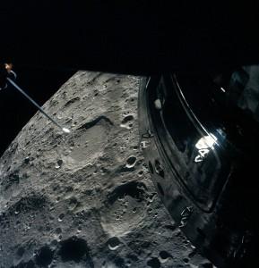 ภาพดวงจันทร์จากยานอะพอลโล 13