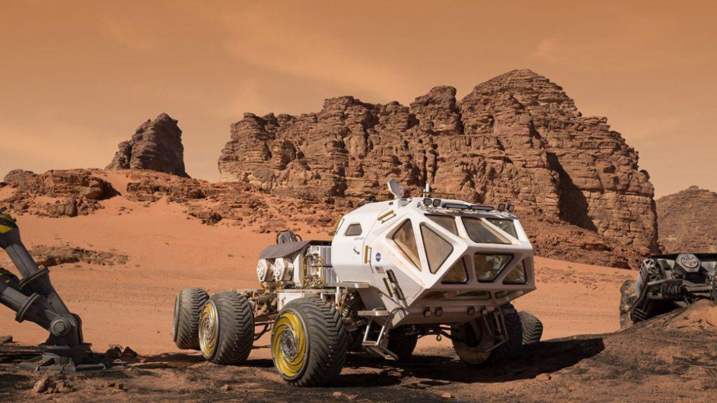 รถโรเวอร์สำหรับใช้บนดาวอังคาร 1