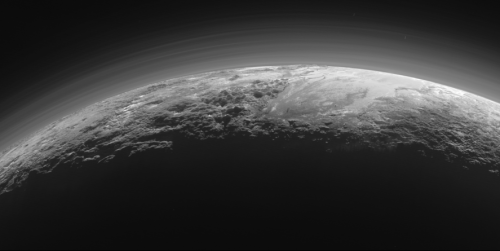 ภาพดาวพลูโต ยาน New Horizons ข่าวดาราศาสตร์