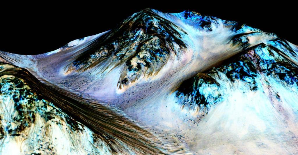 นาซ่าค้นพบน้ำบนดาวอังคาร ข่าวดาราศาสตร์
