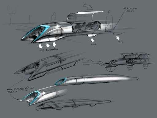 ระบบขนส่ง hyperloop