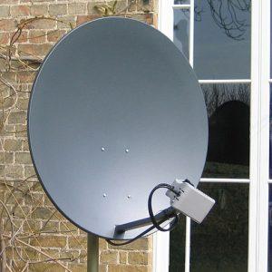 จานรับและส่งสัญญาณดาวเทียม ASTRA2Connect
