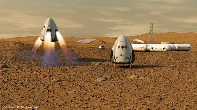 SpaceX เริ่มทดสอบจรวดไปดาวอังคาร
