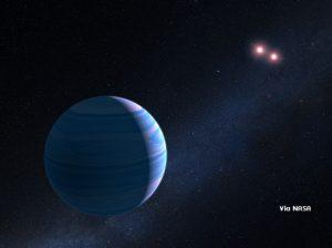 ดาวเคราะห์โคจรรอบดาวฤกษ์คู่