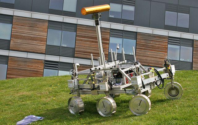 ตัวต้นแบบยาน ExoMars Rover