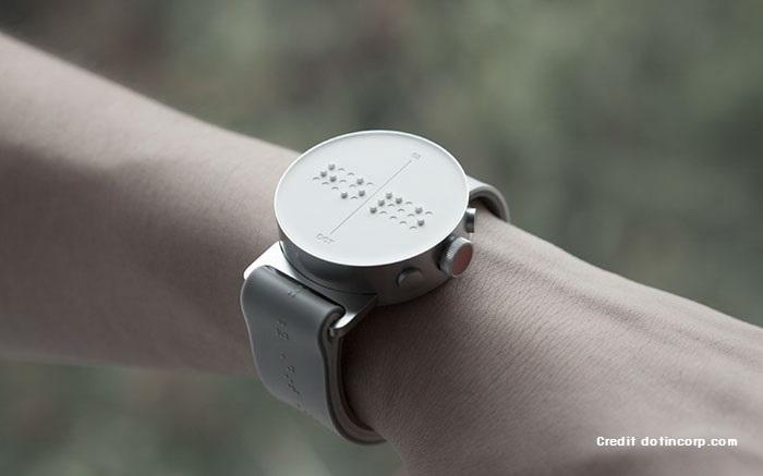 นาฬิกาอักษรเบรลล์