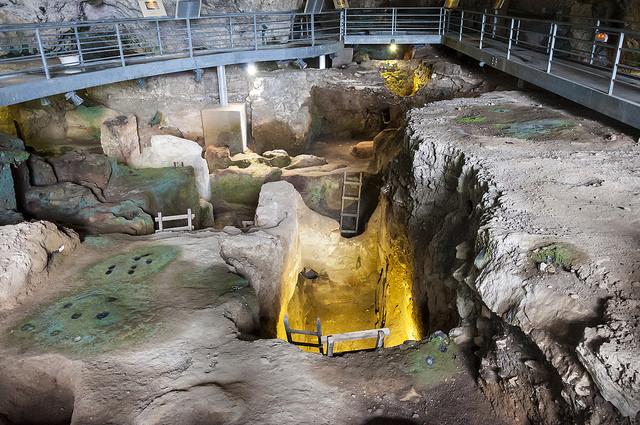 ถ้ำ Theopetra สถานที่ค้นพบ Avgi