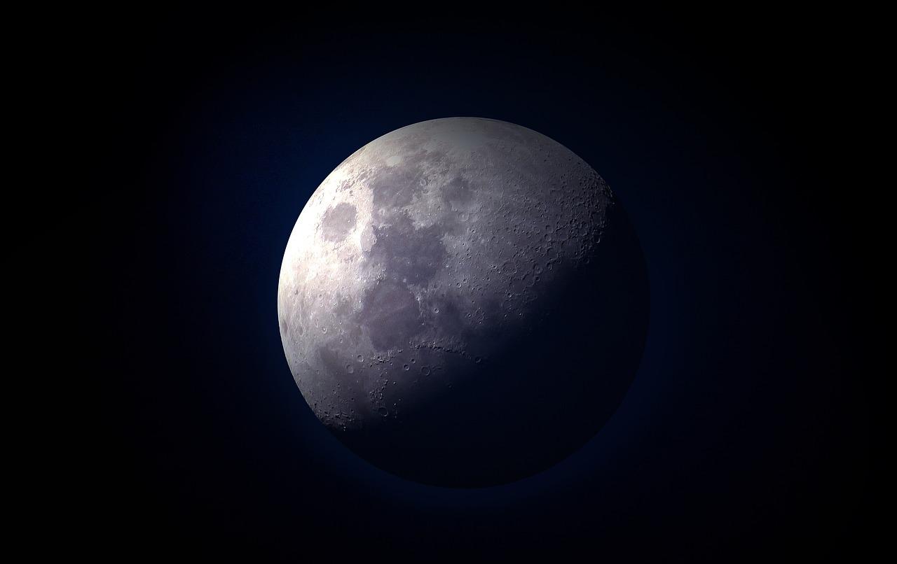 ดวงจันทร์มีหลุมอุกกาบาต