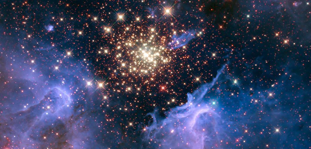 กระจุกดาว NGC 3603