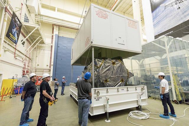 ขนาดของยาน Parker Solar Probe