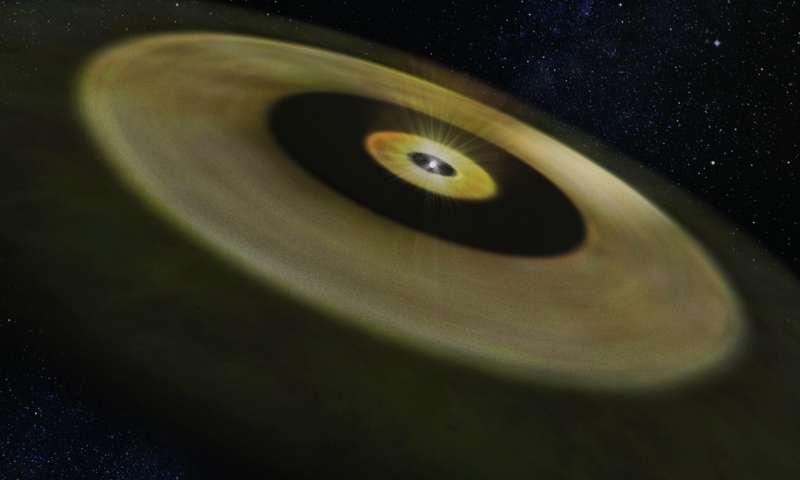 ดาวฤกษ์เกิดใหม่ DM Tau