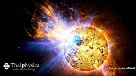 การเกิด Flare ของดาวแคระ