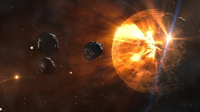 JAXA เผยภาพดาวเคราะห์น้อยพุ่งชนโลก