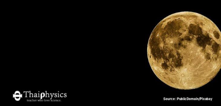 ดวงจันทร์หดเล็กลง