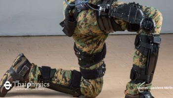 ชุดเกราะเสริมพลังทางการทหาร