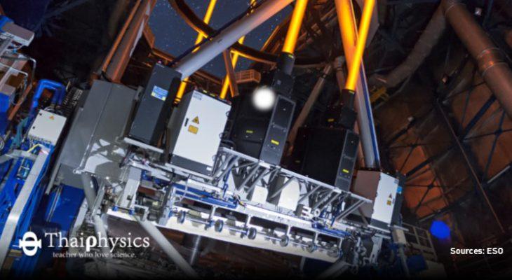 แสงเลเซอร์กำลังสูงช่วยในการถ่ายภาพดาราศาสตร์