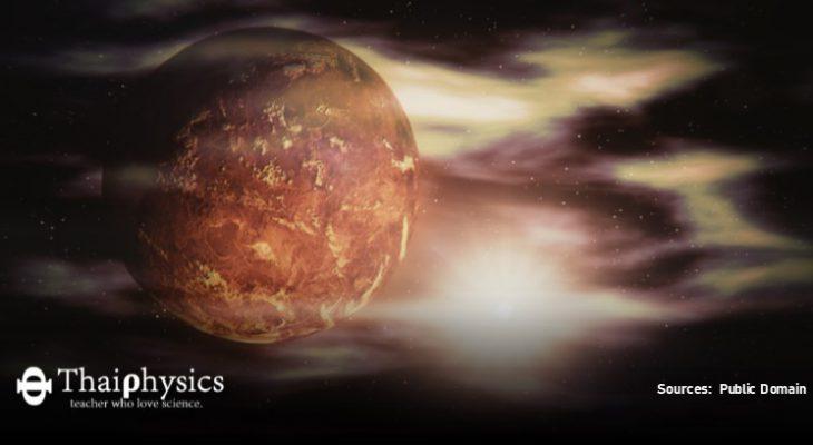 ตรวจพบการปะทุของภูเขาไฟบนดาวศุกร์