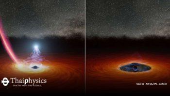 มงกุฎของหลุมดำที่หายไป