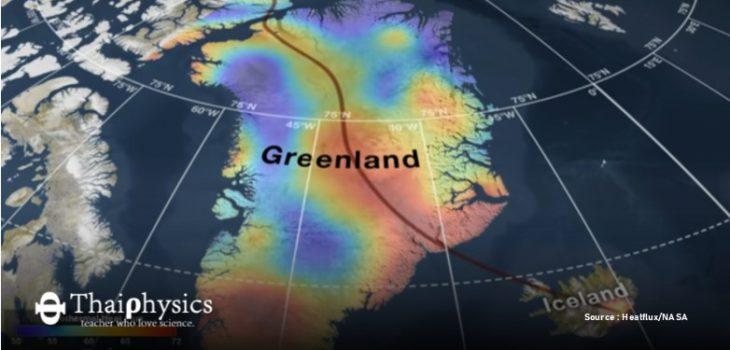 การละลายของน้ำแข็งกรีนแลนด์ทำสถิติใหม่